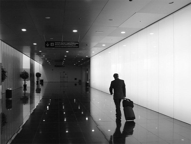 Nuevo modulo en el aeropuerto de El Prat. Barcelona 2007
