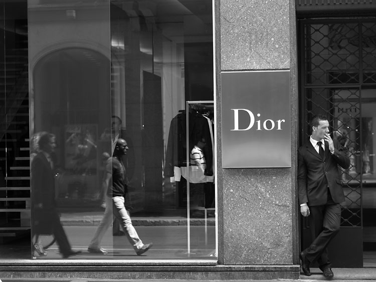 Dior. Milan 2007