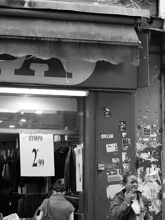 2 euros 99. Paris 2007