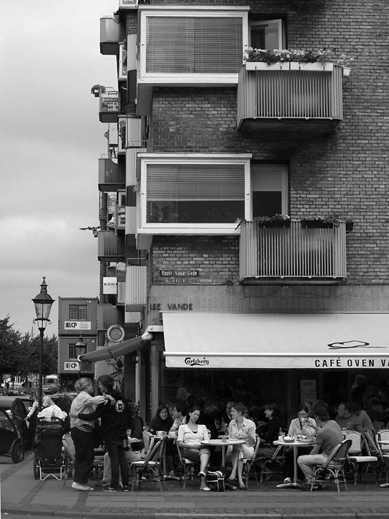 Cafe Oven Vande. Copenhague 2007