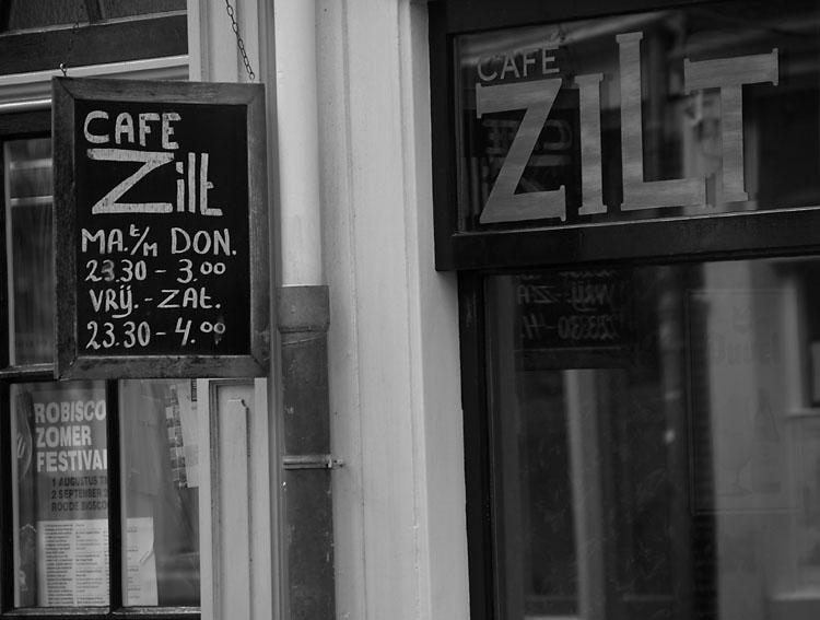 Cafe Zilt. Amsterdam2007