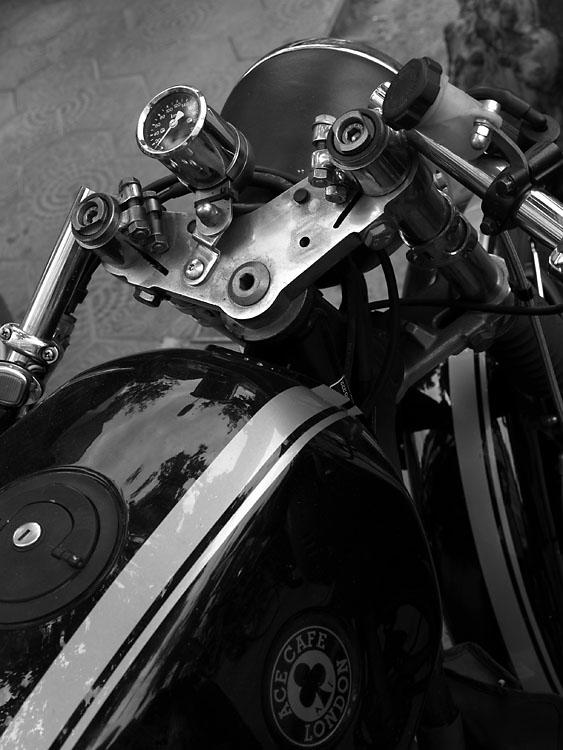 Motocicleta BMW. Barcelona2007