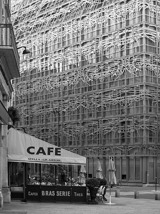 Cafe y Ministerio de Cultura. Paris 2007