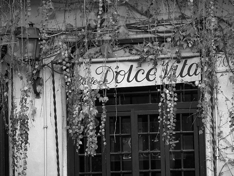 Cafe Dolce Vita. Roma 2007