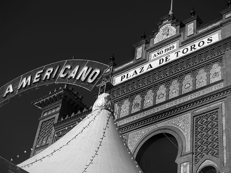 Circo Americano. Plaza de las Ventas. Madrid 2007