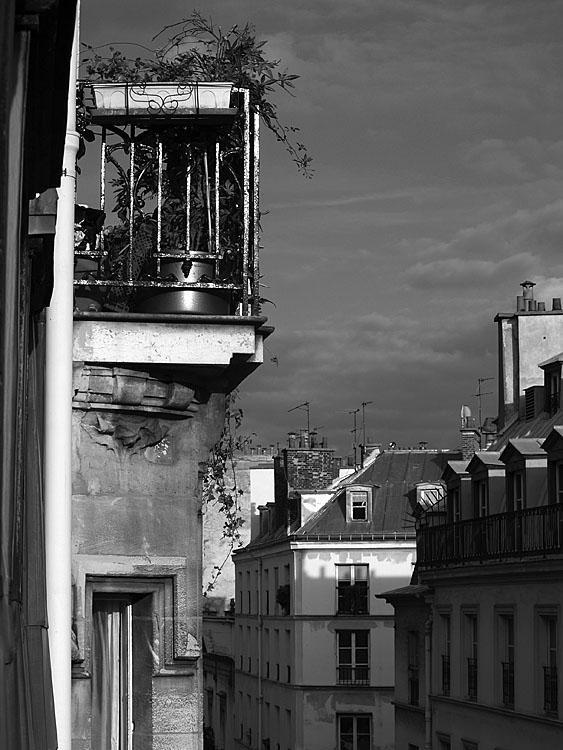 Desde la habitacion del hotel. Paris 2007