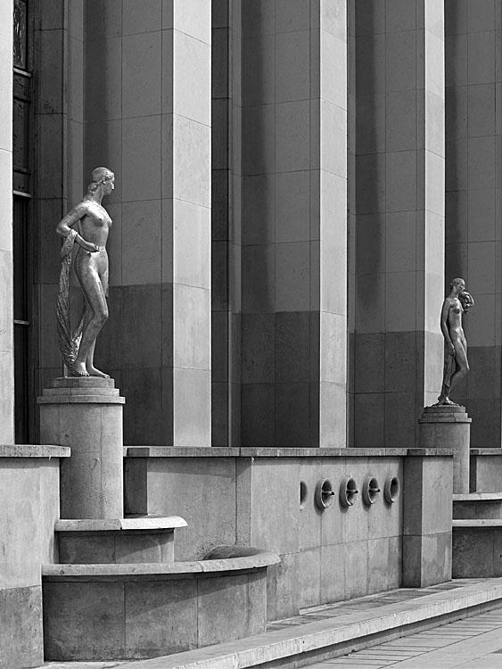 Trocadero. Paris 2007