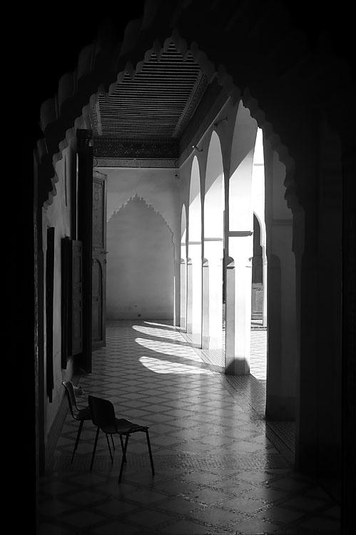 Palacio Bahia. Marrakech 2007