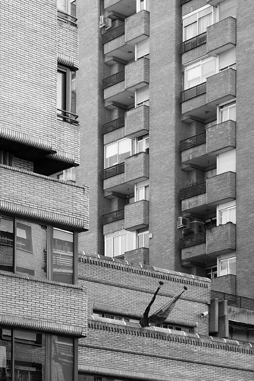 Calle de Orense. Madrid 2008