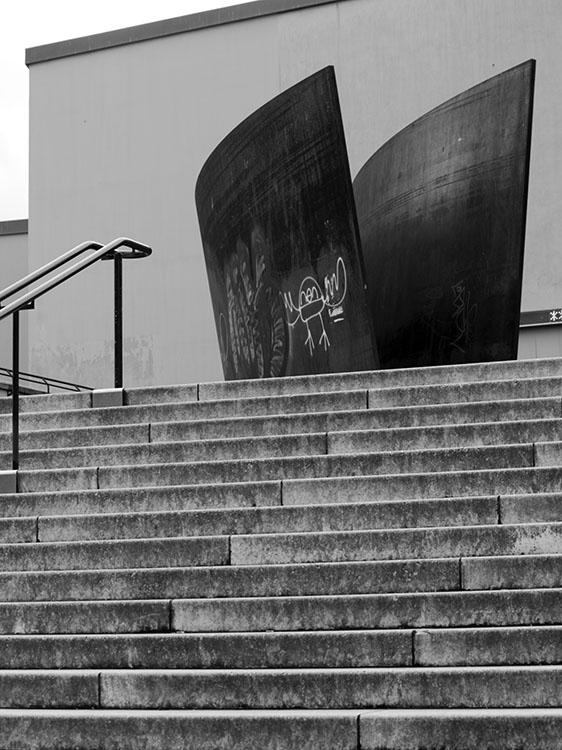 Richard Serra en Basilea 2008