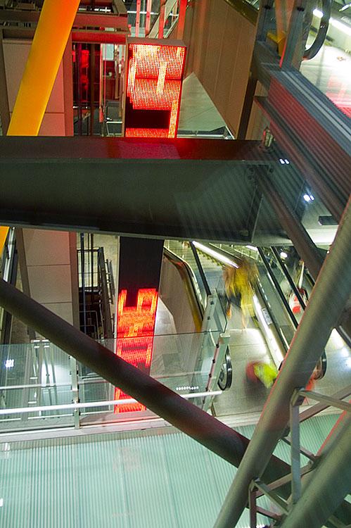 T4, aeropuerto de Barajas. Madrid 2008