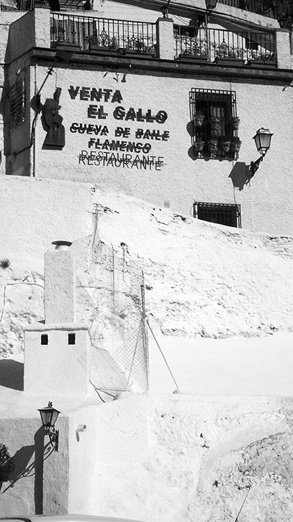 Venta El Gallo, Sacromonte, Granada 2009