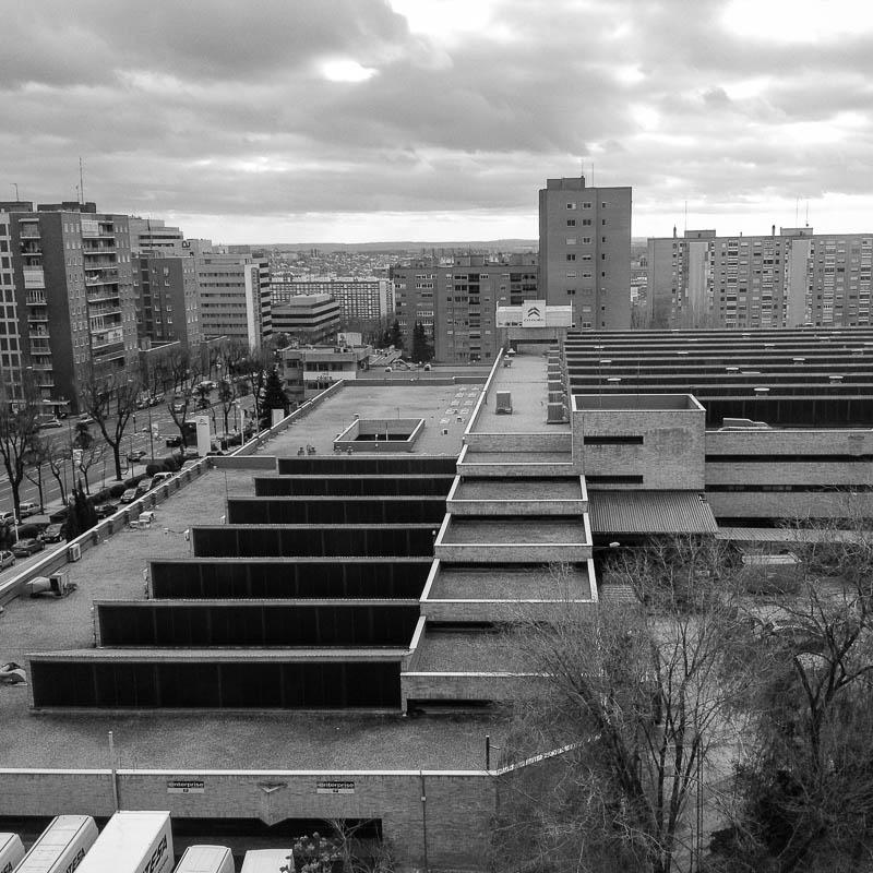 Nave de la Citroën. Madrid, 2014